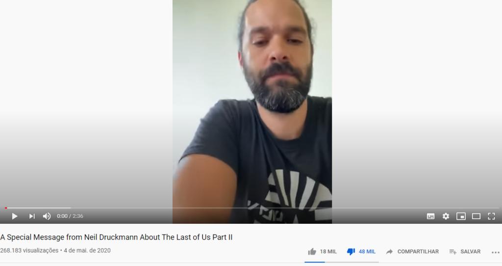 Neil Druckmann dislike