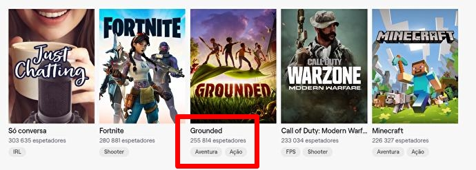 Grounded Twitch