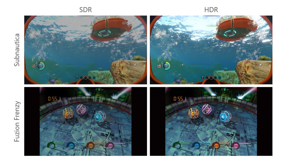 SDR HDR
