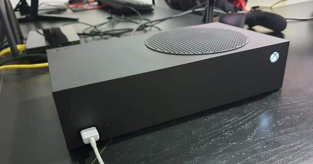 Xbox Series S Preto