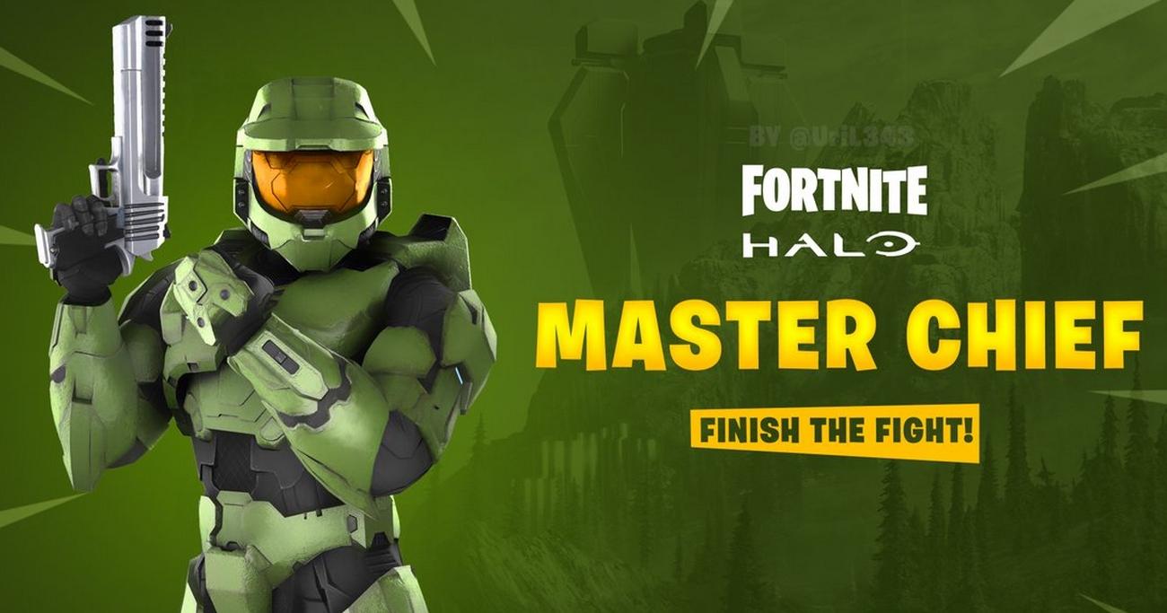 Master Chief da franquia Halo pode está chegando ao Fortnite