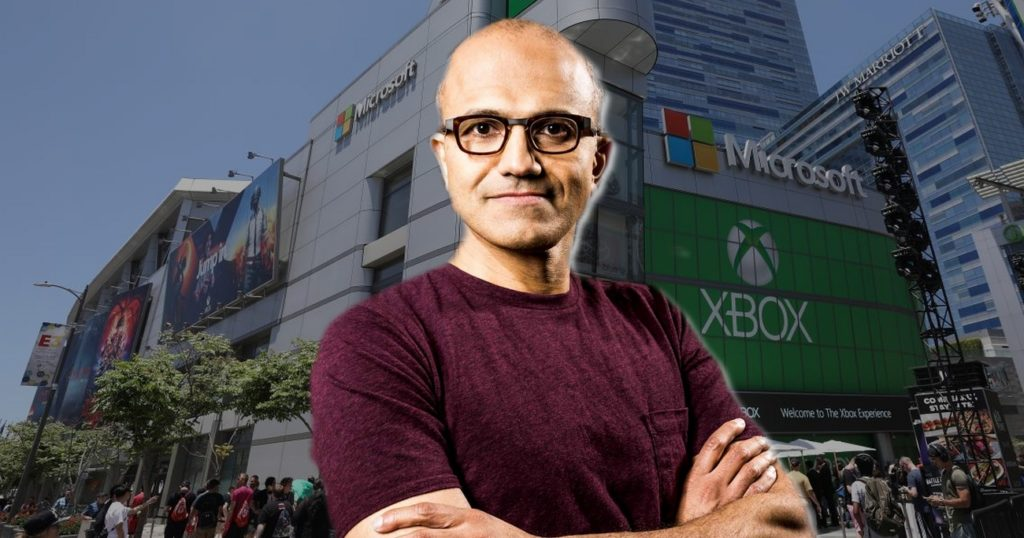 Satya Nadella Xbox