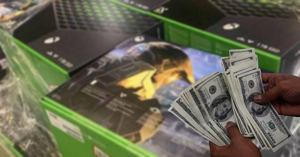 Xbox Series X Cambistas