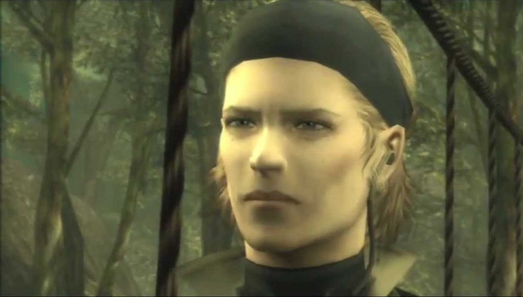 The Boss Metal Gear Solid