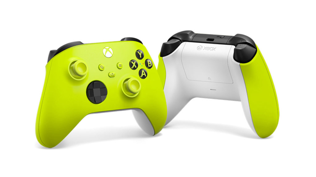 Xbox Series Wireless Controller – Electric Volt
