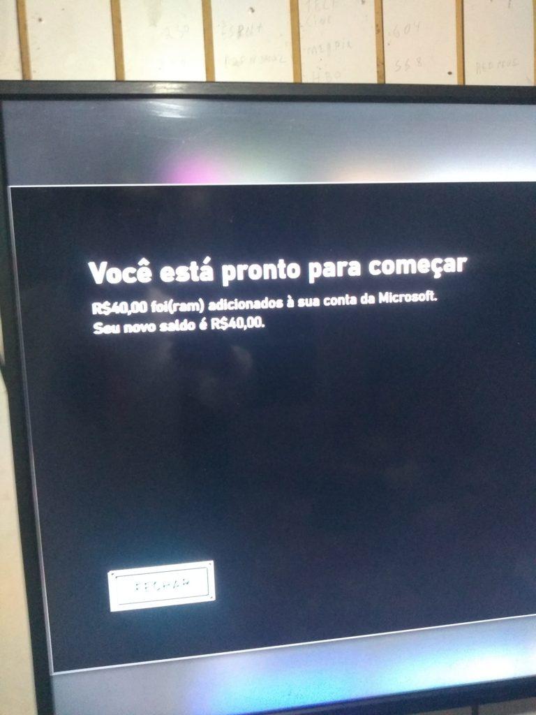 Xbox Cartao Presente
